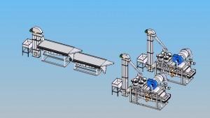 Линия для переработки гречихи 400 кг/час