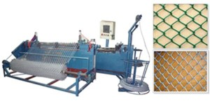 Cтанок для производства сетки-рабицы