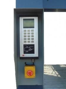 терминал автопаркинговой системы