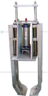 Пневматическая машина разгрузки