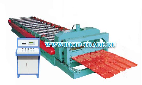 оборудование для производство металлочерепицы