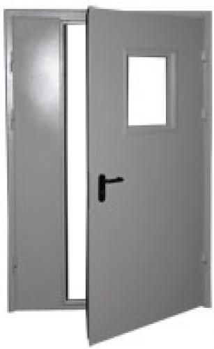 двери металлические противопожарные цена