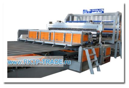 Автоматическая линия производства кладочной сетки