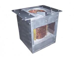 индукционная печь принципиальная схема
