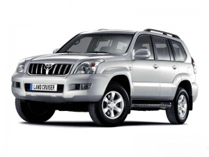 Toyota Land Cruiser Prado с левым рулем