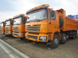 Самосвал ShaanXi 8x4 380 л.с., евро-2