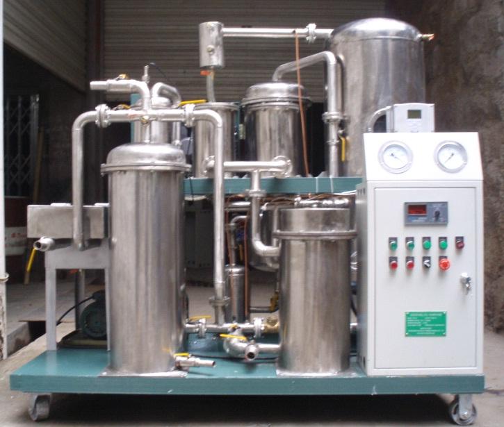 Оборудование для очистки подсолнечного масла