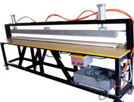 Пневматическая машина запечатывания и резки+стойка+нож